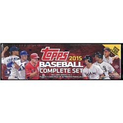2015 Topps Factory Set Baseball Hobby