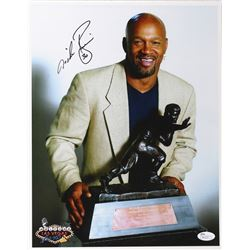 Mike Rozier Signed Nebraska Heisman 11x14 Photo (JSA COA)