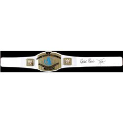 "Scott Hall ""Razor Ramon"" Signed WWE Intercontinental Heavyweight Wrestling Championship Belt (JSA CO"