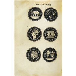 Huttich's 1537 Illustrations of Roman Republican Coins