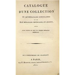 Rare 1811 Catalogue of Roman Coins by Rollin
