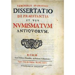 The First Edition of Spanheim's Classic Dissertatio