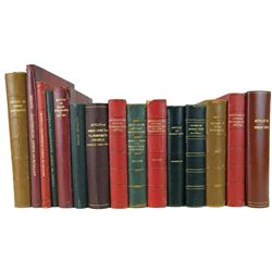 Bound Volumes of Offprints on Roman Numismatics