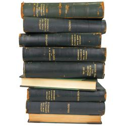 Bound Volumes of Offprints from the Numismatic Chronicle