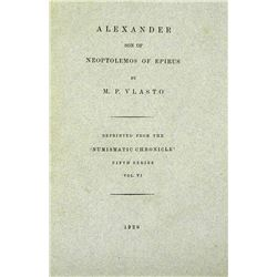 Vlasto on Alexander I of Epirus