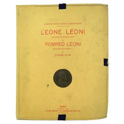 Plon's Rare, Wonderful Work on the Leonis, on Special Paper