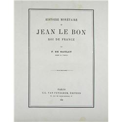 Rare Work on Jean le Bon by F. de Saucy