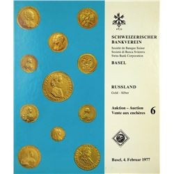 1977 Swiss Bank Sale of Russian Coins