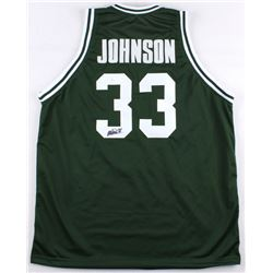 Magic Johnson Signed Michigan State Jersey (JSA COA)