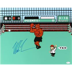 "Mike Tyson Signed ""Punch-Out"" 16x20 Photo (JSA COA)"