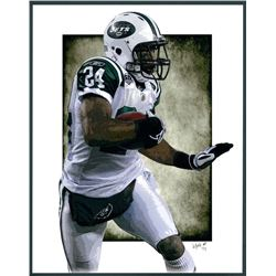 Darrelle Revis Jets Limited Edition 11x14 Signed Art Print by Jeff Lang (Artist Proof #2/3)