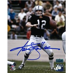 Ken Stabler Signed Raiders 8x10 Photo (Radtke COA)