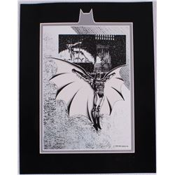 Batman Returns Limited Edition 11x14 Zanart Lithograph