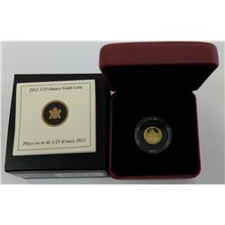 CANADA-GOLD 2012 1/25 oz PROOF