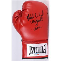 "Michael Carbajal Signed Everlast Boxing Glove Inscribed ""Little Hands of Stone"" (PA COA)"