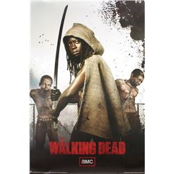 """The Walking Dead"" 24x36 Poster Featuring Michonne"