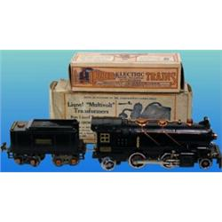 lionel 262 pre war steam engine with 262t tender boxes 0 2 4 2 excellent condi