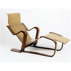 Marcel breuer chaise longue ca 1936 manufactured by for Breuer chaise longue