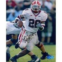 "Danny ""DJ"" Ware Signed Georgia 8x10 Photo (Radtke COA)"