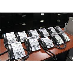 how to change the time on nec phone system