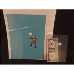 GHOSTBUSTERS THE REAL CARTOON ORIGINAL FILM CELL 6