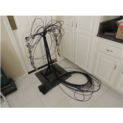 ANIMATRONIC CHUCKY PUPPETRY TELEMETRY RIG 12 AXIS 24 CABLE UNIT FOR FULL RANGE OF ARM MOTION
