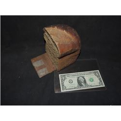 BREAD HALF LOAF RUBBER PROP FAKE FOOD LOOKS LIKE RYE