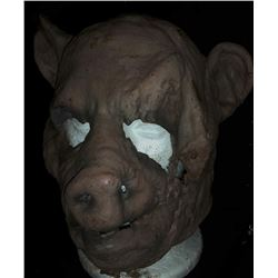 DR MOREAU'S HOUSE OF PAIN SCREEN USED PIG MASK
