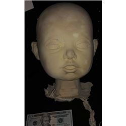 BABY HEAD CASTING LARGE OVERSIZED