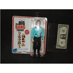 BIG BANG THEORY STAR TREK SHELDON FIGURE ON INCORRECT CARD