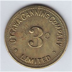 Ottawa Canning County Token