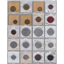 Lot of 39 Ontario Trade Tokens