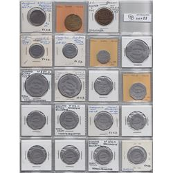 Lot of 59 Ontario Trade Tokens
