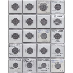 Lot of 89 Ontario Trade Tokens