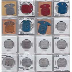 Lot of 132 Ontario Milk Tokens