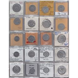 Lot of 70 Ontario Trade Tokens