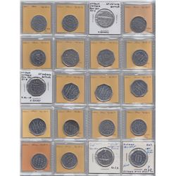 Lot of 49 Ontario Trade Tokens