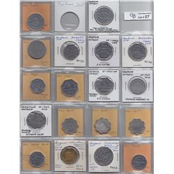 Lot of 58 Ontario Trade Tokens