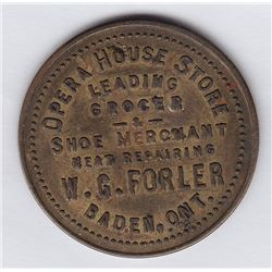 One Baden, Ont. Trade Token