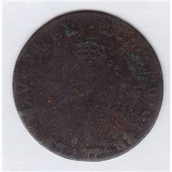 Br 508. Billon Double Sol of 24 Deniers. 1740 A. (Paris).