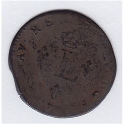 Br 508. Billon Double Sol of 24 Deniers. 1746 A. (Paris).