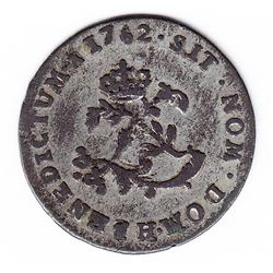 Br 508. Billon Double Sol of 24 Deniers. 1752 H. (La Rochelle).