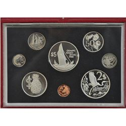 Cayman Islands - 1988 Proof Set