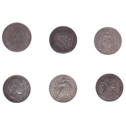 Germany - Lot of 6 Thalers