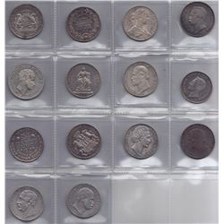 Germany - Lot of 14 Thalers