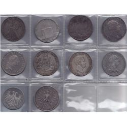 Germany - Lot of 10 Thalers