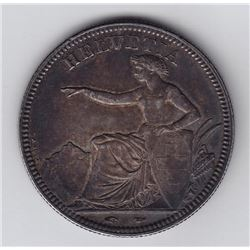 Switzerland 5 Francs, 1851