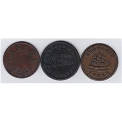 Lower Canada Tokens.