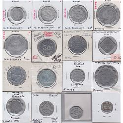 Miscellaneous Merchant Tokens - Lot of 25