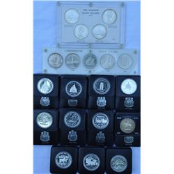 Lot of 20 Commemorative and RCM Silver Dollars